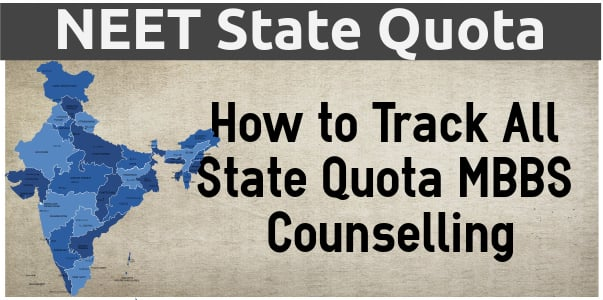 state quota neet counselling for mbbs